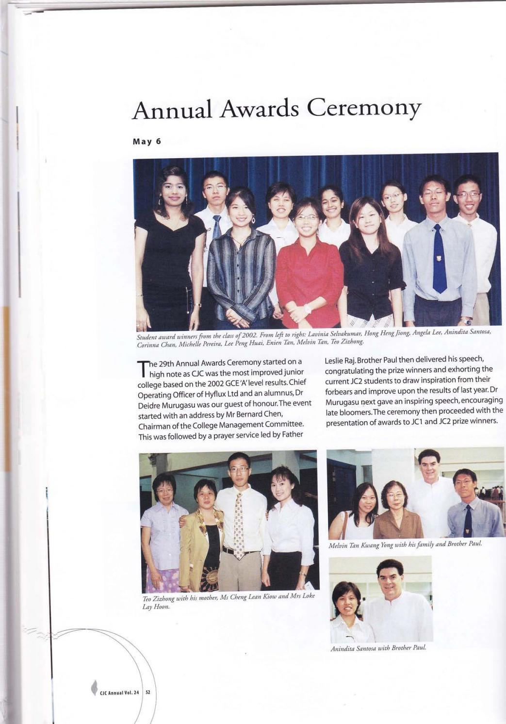cjc yearbook 2003 by catholic jc issuu