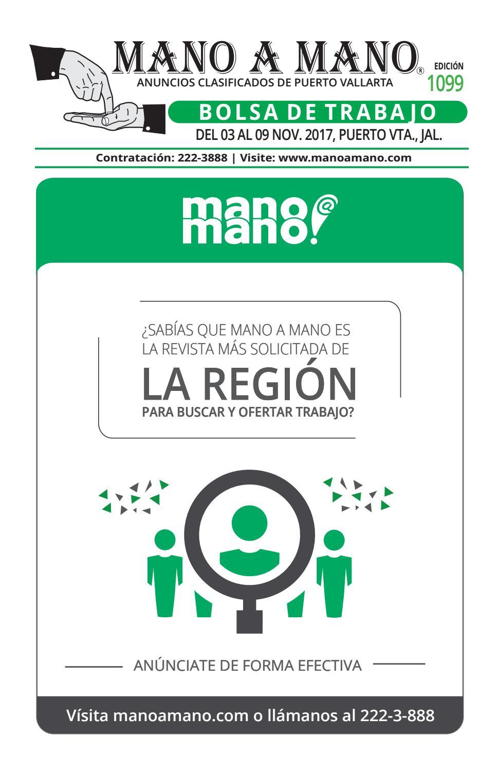 Bolsa trabajo 1099 by MANO A MANO - issuu