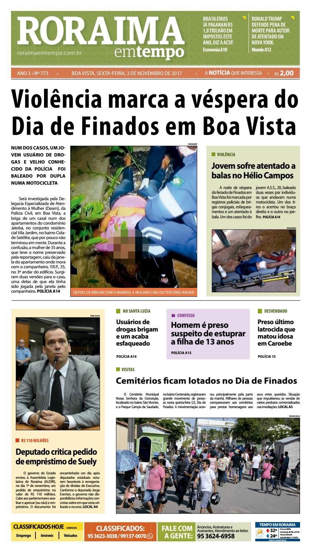 Jornal roraima em tempo – edição 773 by RoraimaEmTempo - issuu 72f83396a6e17