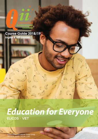 Qii international booklet 2018 by queensland international institute page 1 fandeluxe Images
