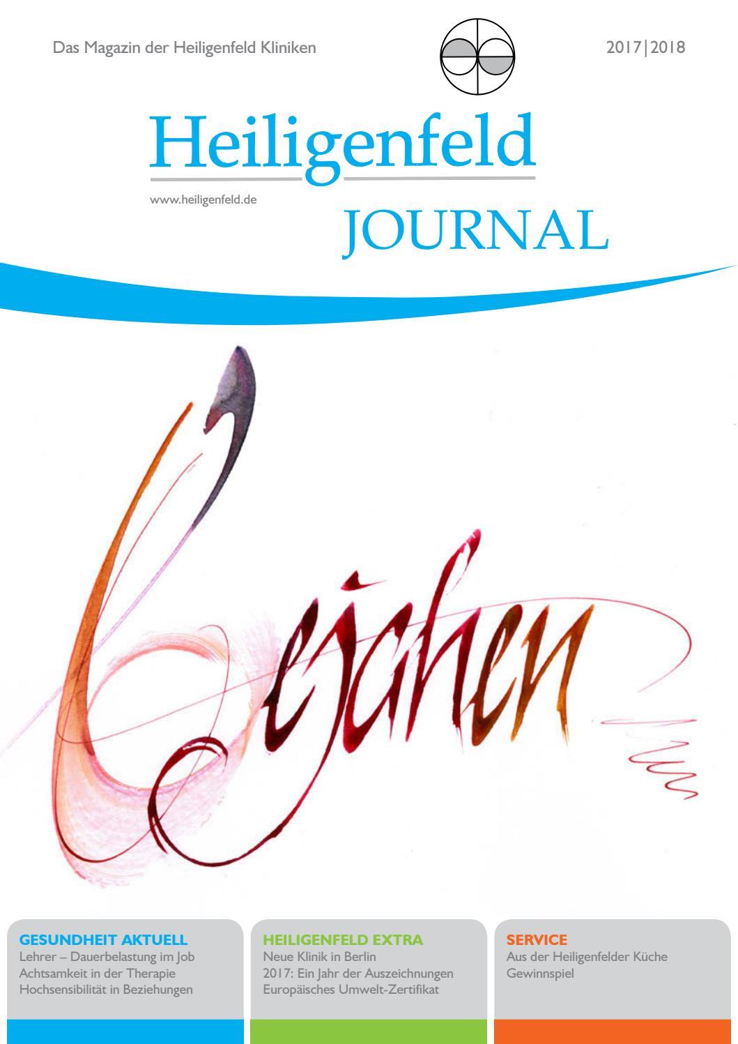 Heiligenfeld Journal 2017/2018