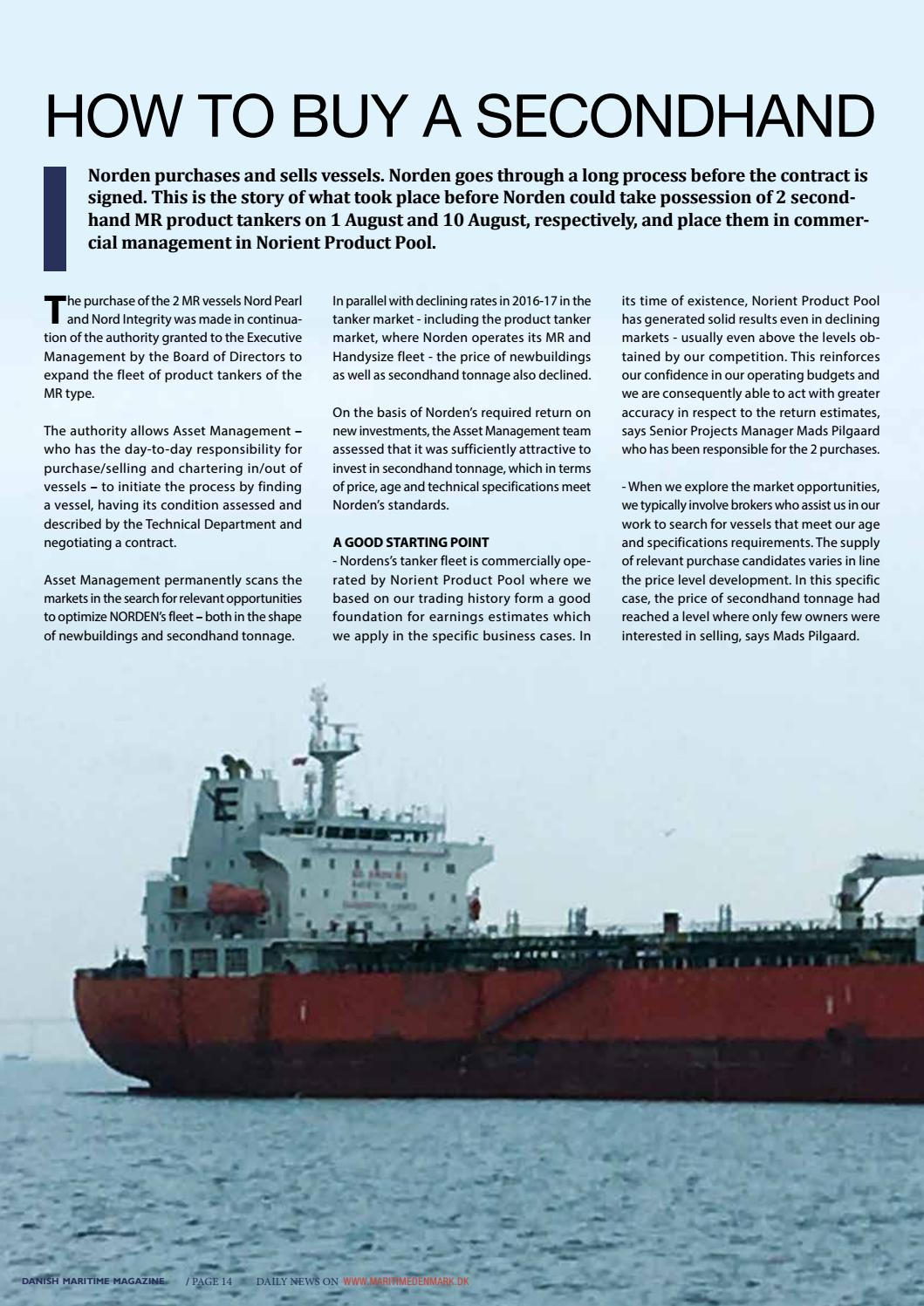 Dmm 3 17 by Media Group Maritime Denmark - issuu