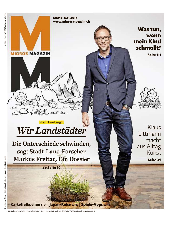 Migros magazin 45 2017 d zh by Migros Genossenschafts Bund