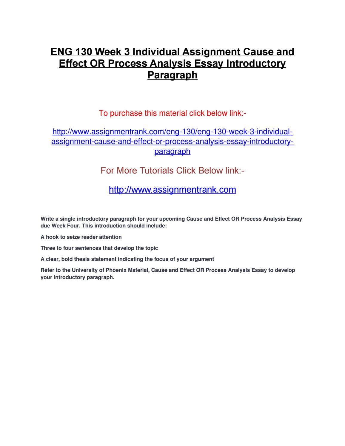 effect vs argument of an essay