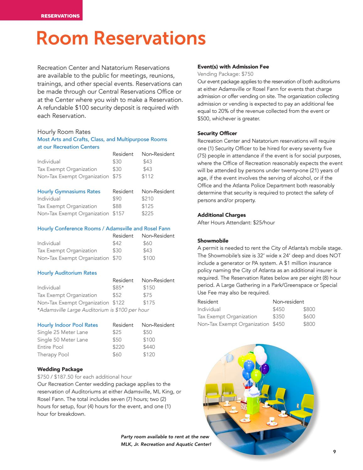 ATL Parks & Rec Winter 2018 Catalog by Atlanta DPR - issuu