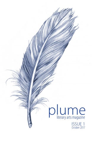 Plume Lit Mag - Issue 1 - Octo...