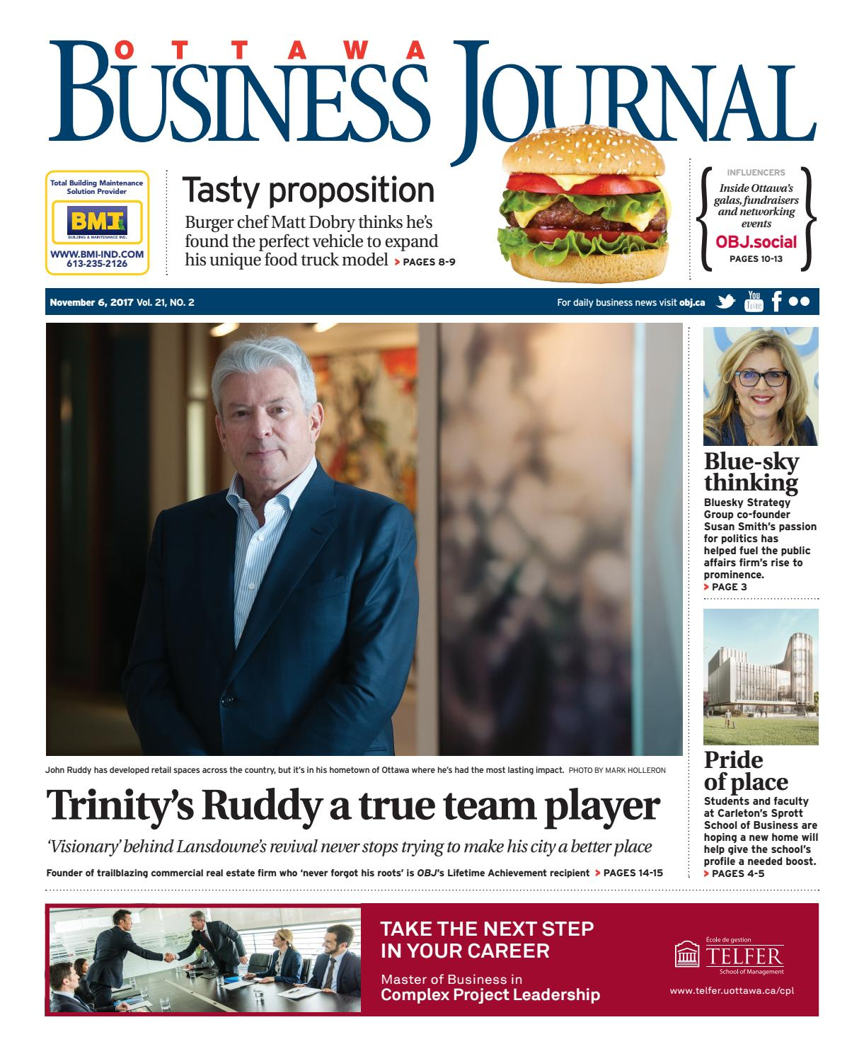 Ottawa business journal november by great river