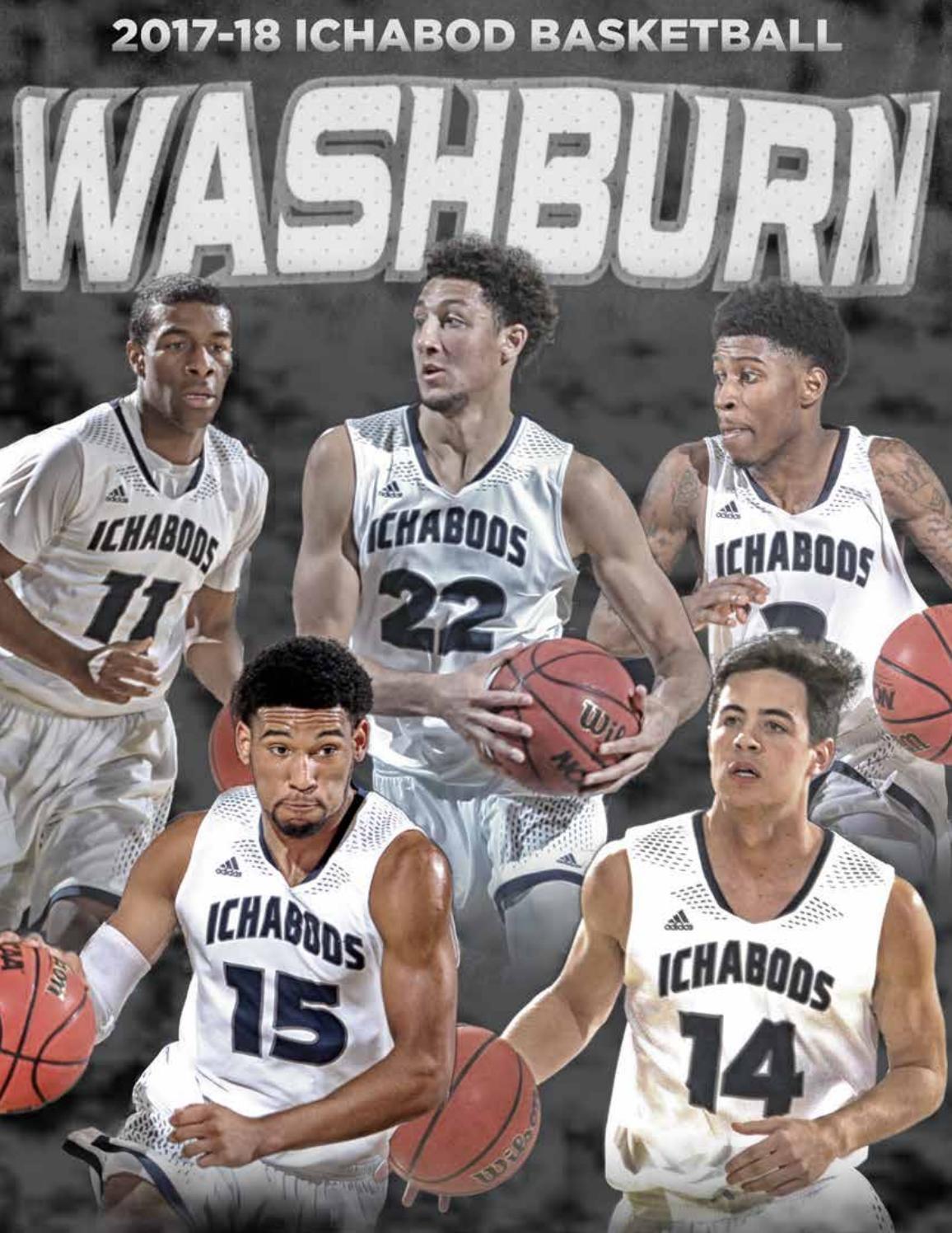 8bd5faedecca 2017-18 Washburn Ichabod Men s Basketball media guide by Washburn Athletics  - issuu