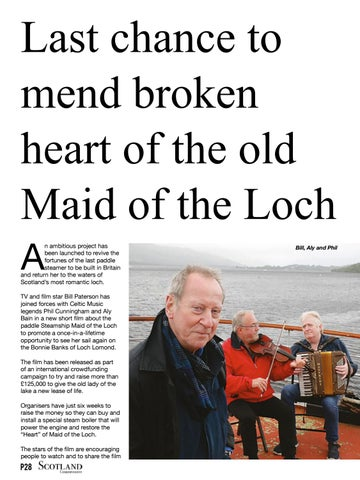 Page 28 of Last chance to mend broken heart of the old Maid of the Loch