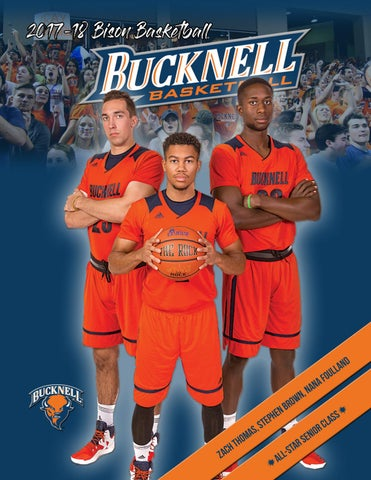 e5604da9631 2017-18 Bucknell Men's Basketball Media Guide by Bucknell University ...