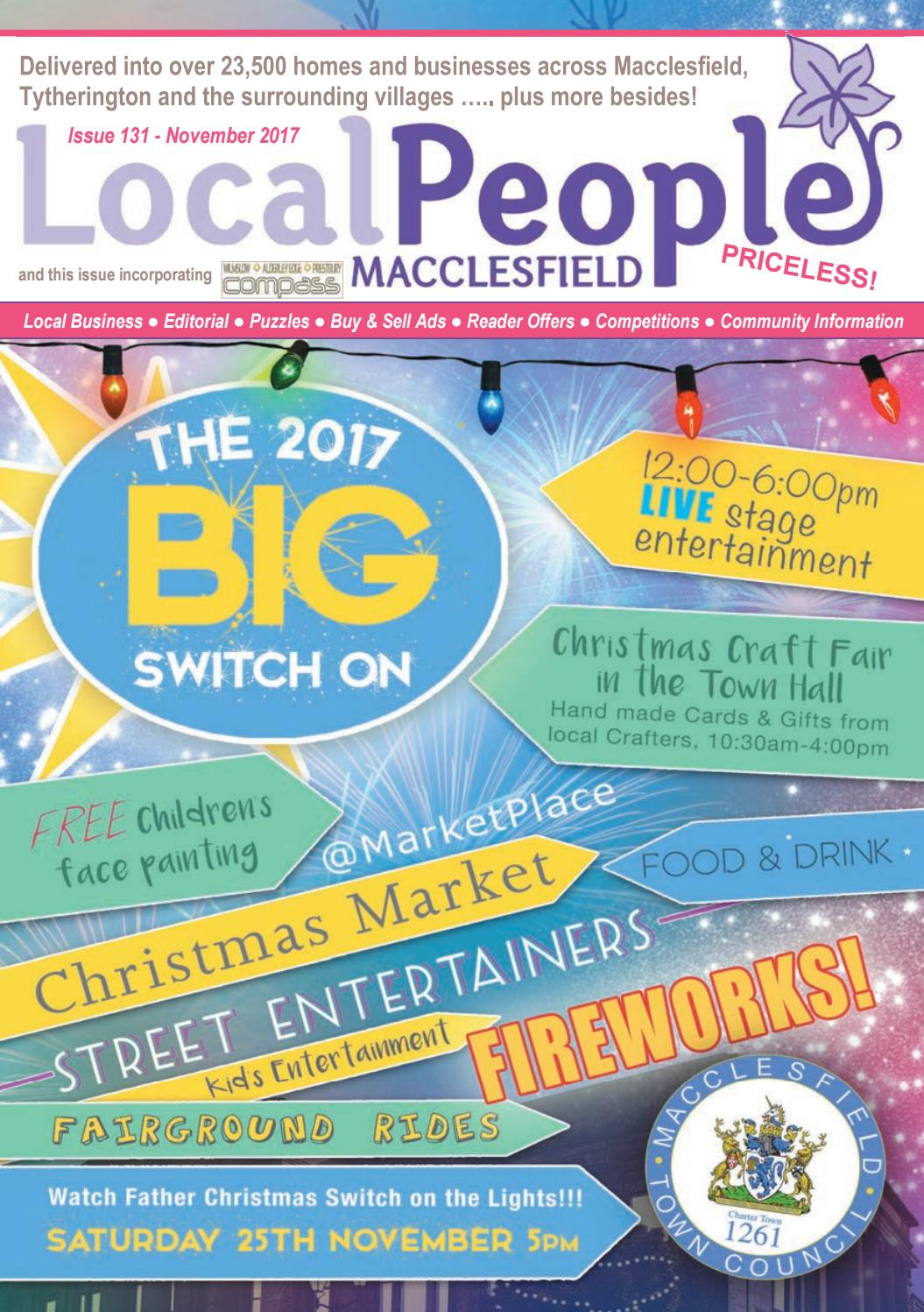 Local People Macclesfield November 2017 issue by Heather Tebay - issuu