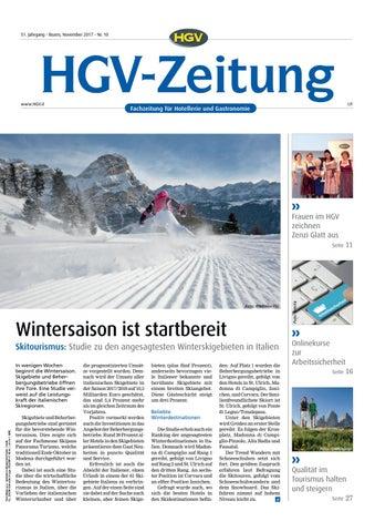 November-Ausgabe der HGV-Zeitung by HGV-Service Genossenschaft - issuu