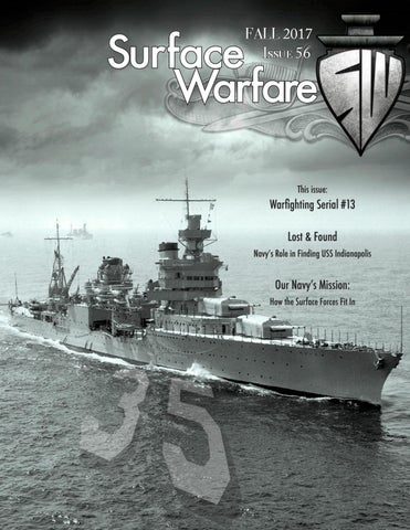 Surface Warfare Magazine - Fall 2017 by Surface Warfare Magazine - issuu