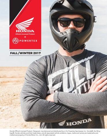 850ef5589e934 Powertex Honda Store 2017 Fall Winter Catalog by Powertex Group - issuu