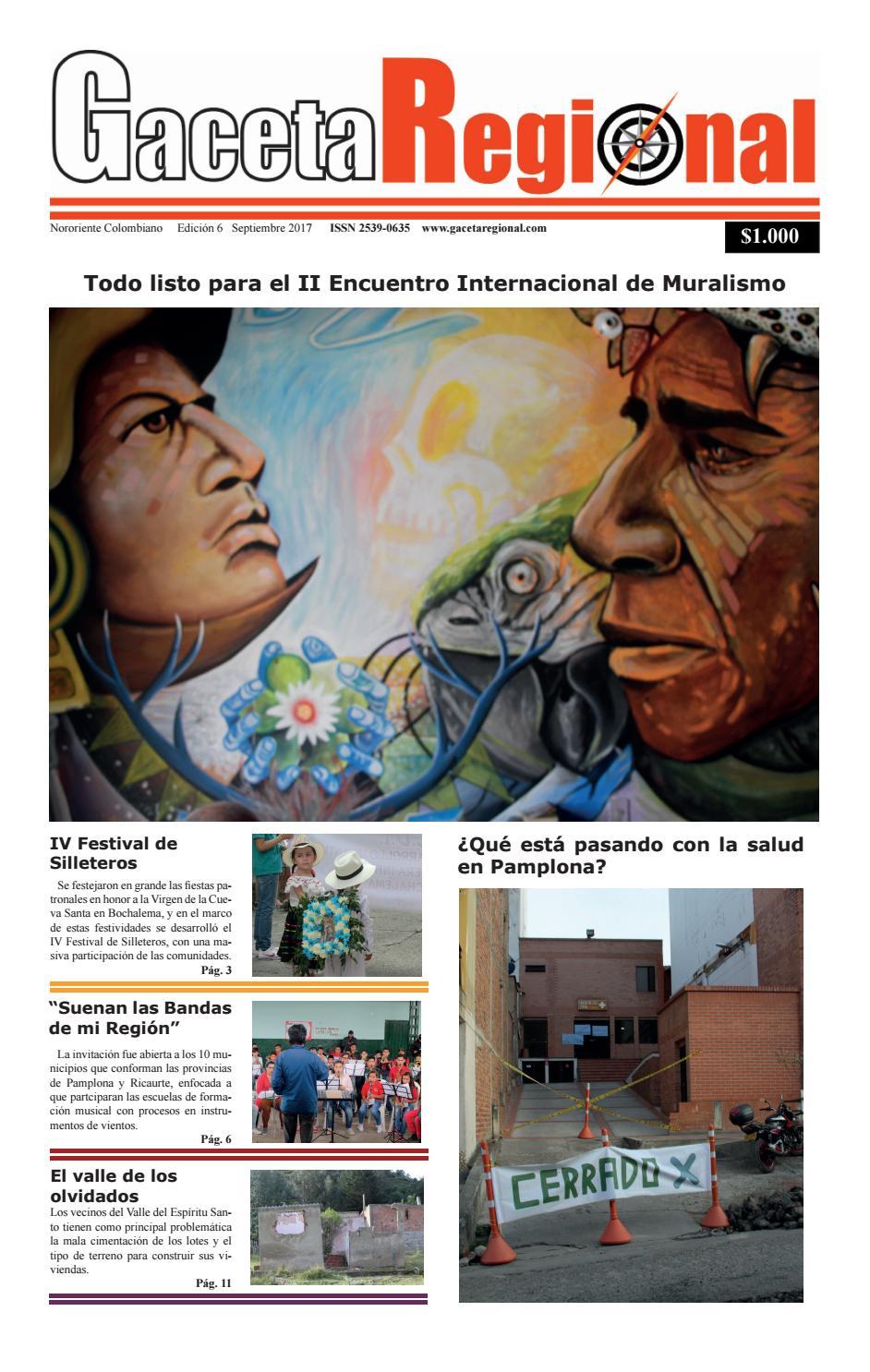Gr Edicion 6 By Gaceta Regional Issuu
