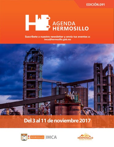 "Cover of ""Agenda Hermosillo 3 nov 2017"""