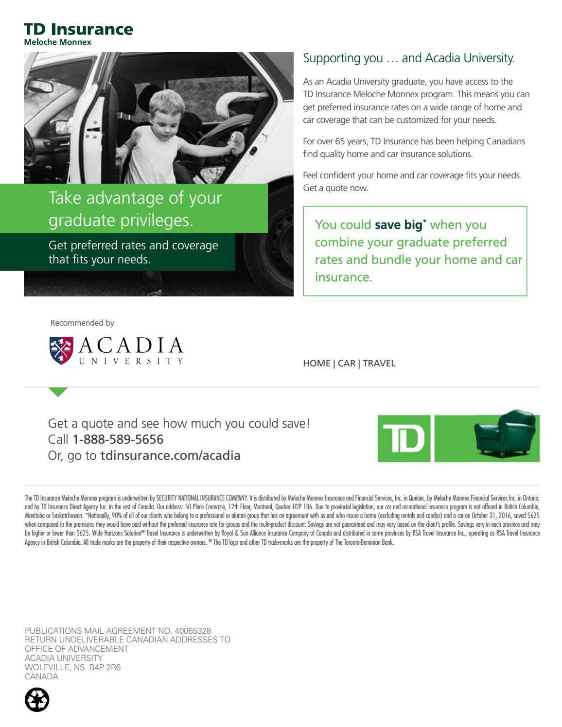 Td Home Insurance Contact - Home Sweet Home | Modern ...