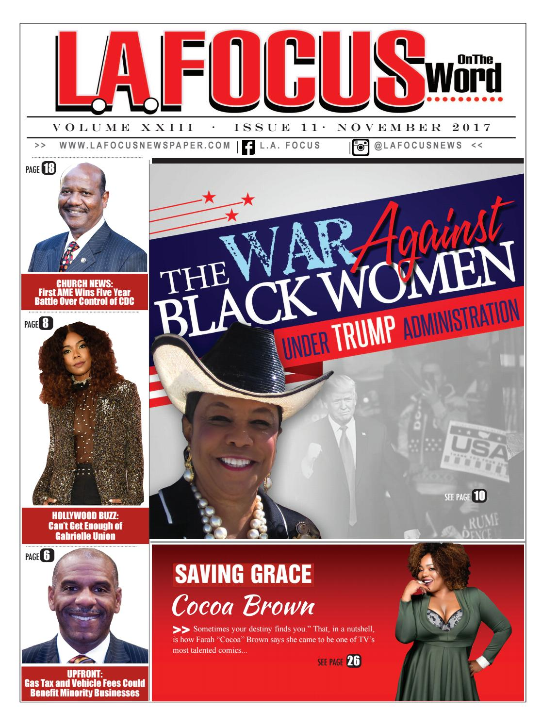 L A  Focus On The Word November 2017 Issue by LA Focus Newspaper - issuu