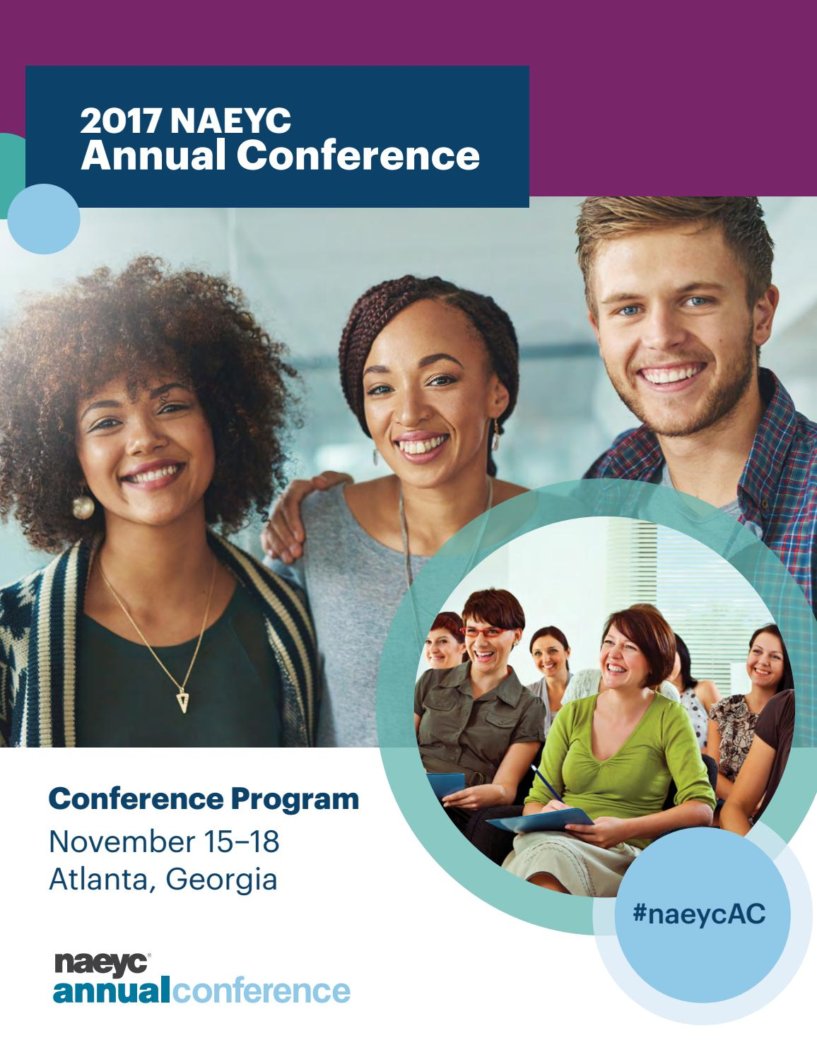 NAEYC 2017 Annual Conference Program by NAEYC - issuu