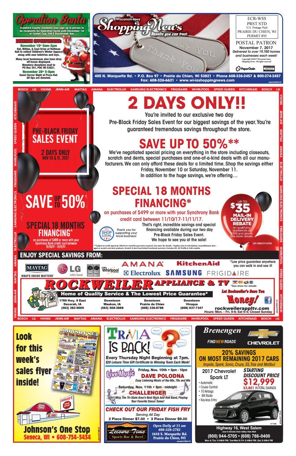 7a8698fa6 WI-IA Shopping News by Woodward Community Media - issuu
