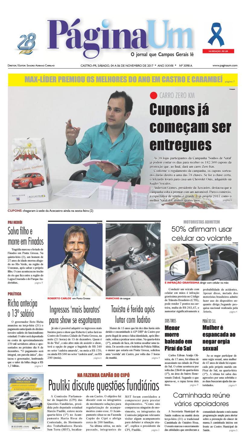 f9d6275b17 3098 A Página Um by Página Um Jornal - issuu