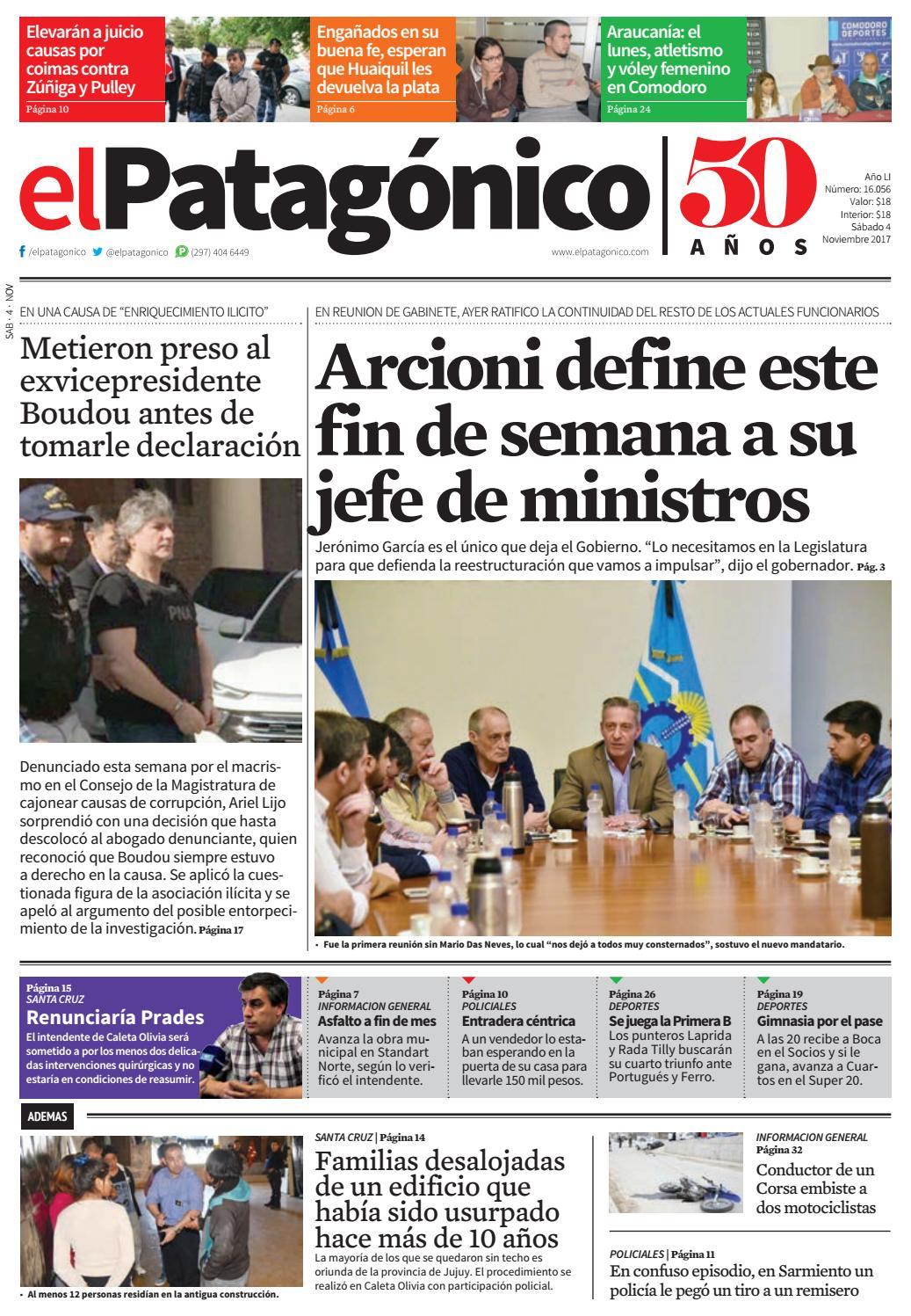 edicion224303112017.pdf by El Patagonico - issuu