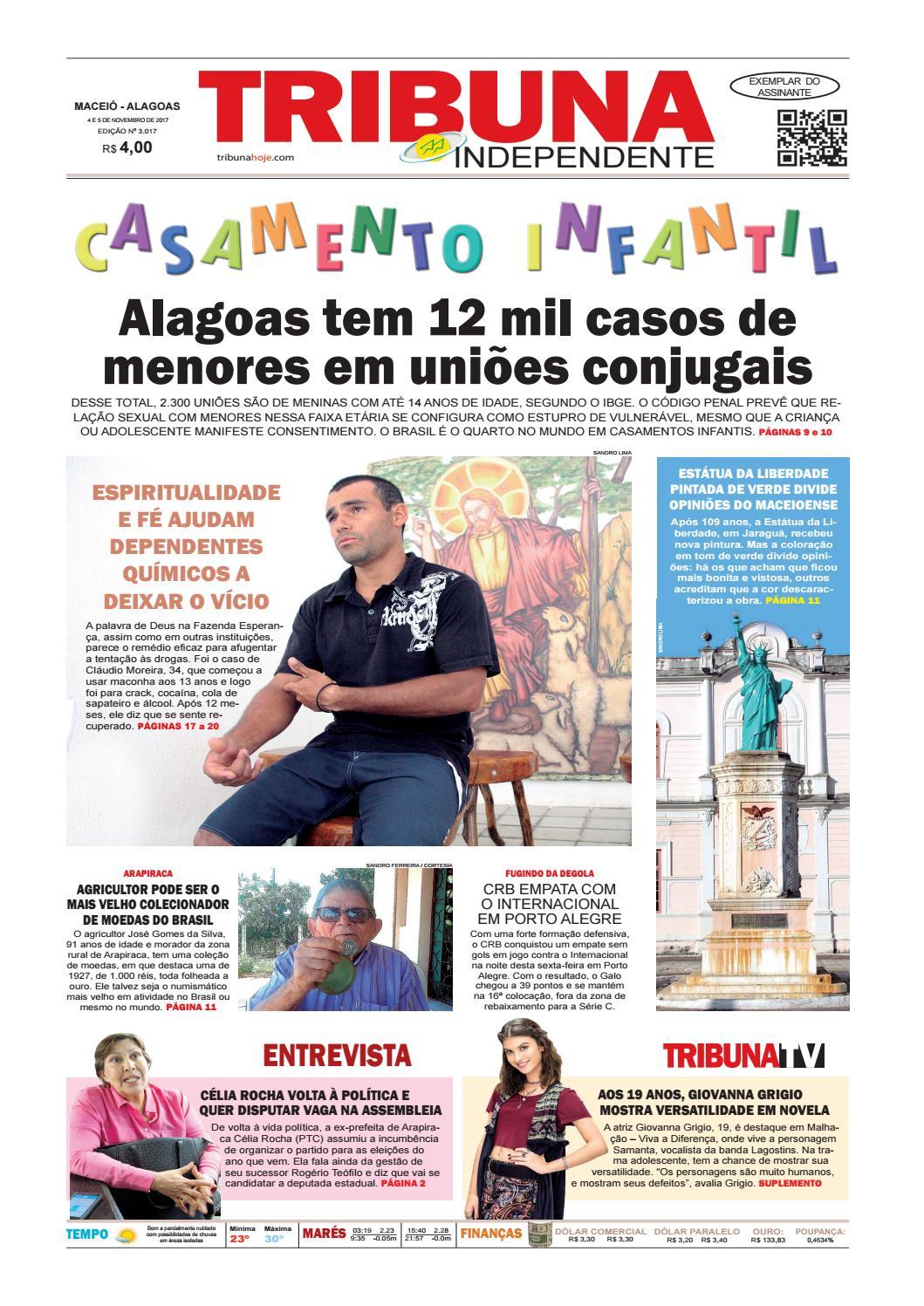 Edição número 3017 - 4 e 5 de novembro de 2017 by Tribuna Hoje - issuu f58df0e80f7bb