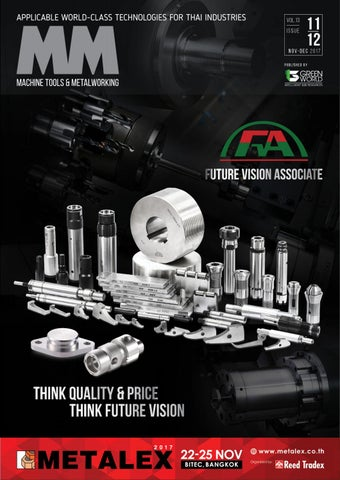 36eff98f62a81 MM Machine Tools & Metalworking : November-December 2017 ISSUE