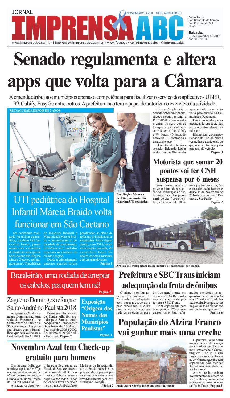 Jornal Imprensa do ABC - Edição 380 by Jornal Imprensa ABC - issuu 27fac05e21e09