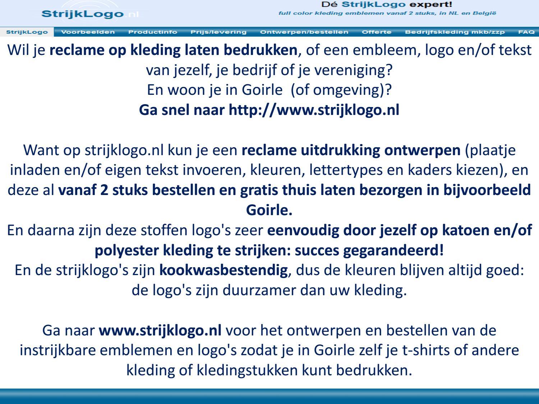 Goirle By Kleding Bedrukken Reclame Strijk Issuu Logo 8vN0Onwm