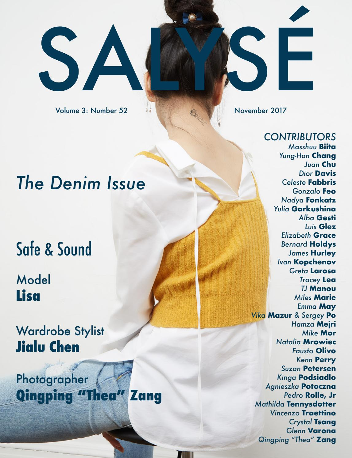 73eb44786a30 SALYSÉ Magazine | Vol 3: No 52 | November 2017 by SALYSÉ Magazine ...