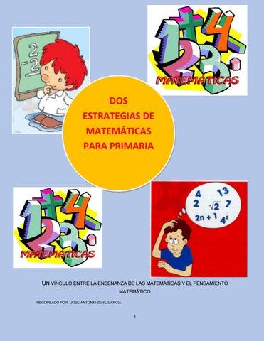 Dos estrategias de material didactico matematicas primaria by ...