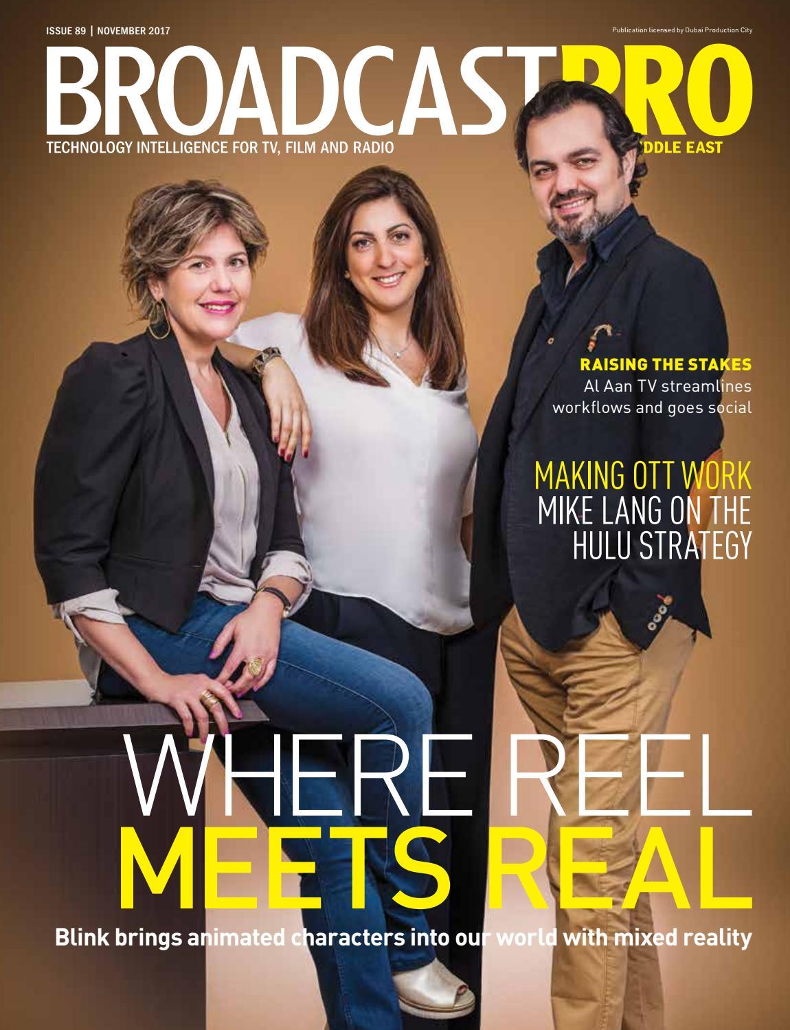 BroadcastPro ME November 2017 by BroadcastPro ME - issuu