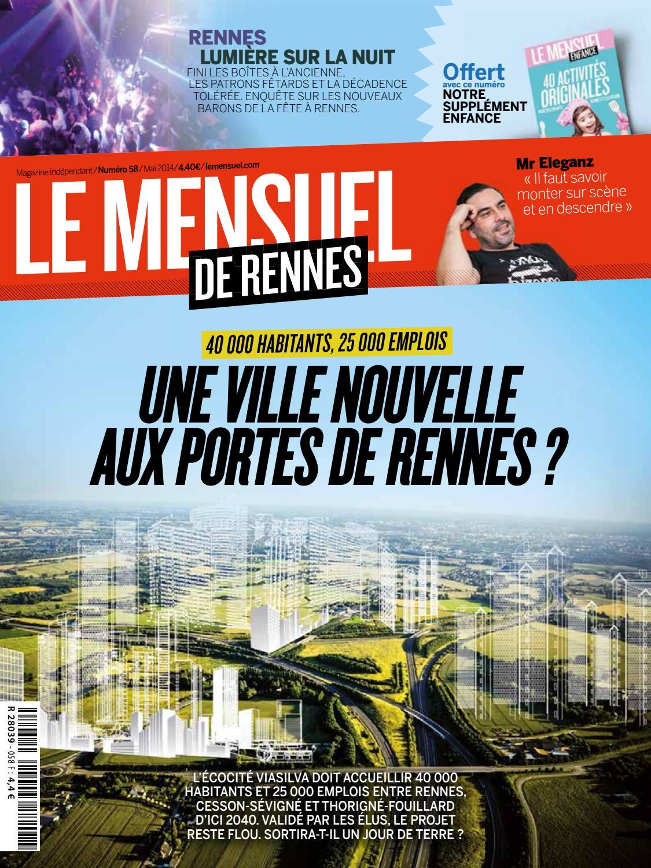 Le mensuel de rennes 40 by Mensuel de Rennes   issuu