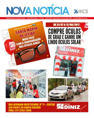 Jornal Nova Notícia - Edição 309 - Julho 2017 by Jornal Nova Notícia ... c17be4978e