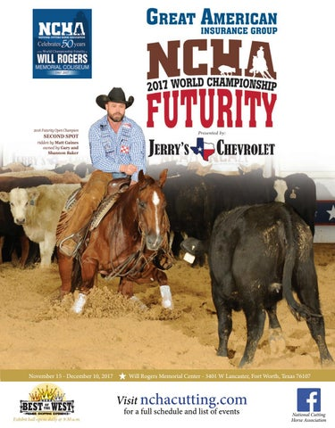 Bill walsh ncha amateur