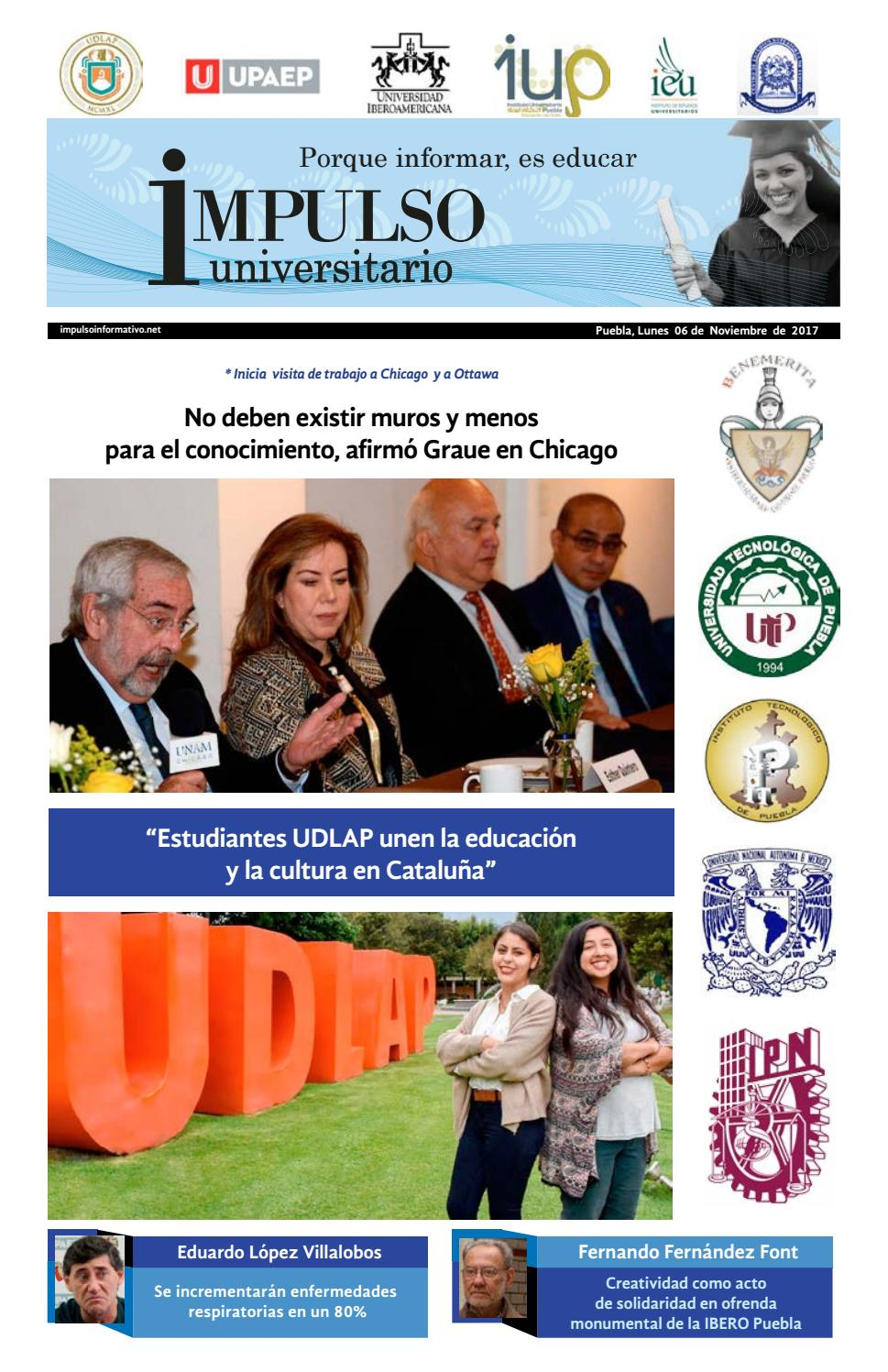 Impulso Universitario Impreso 06 noviembre 2017 by Impulso ...