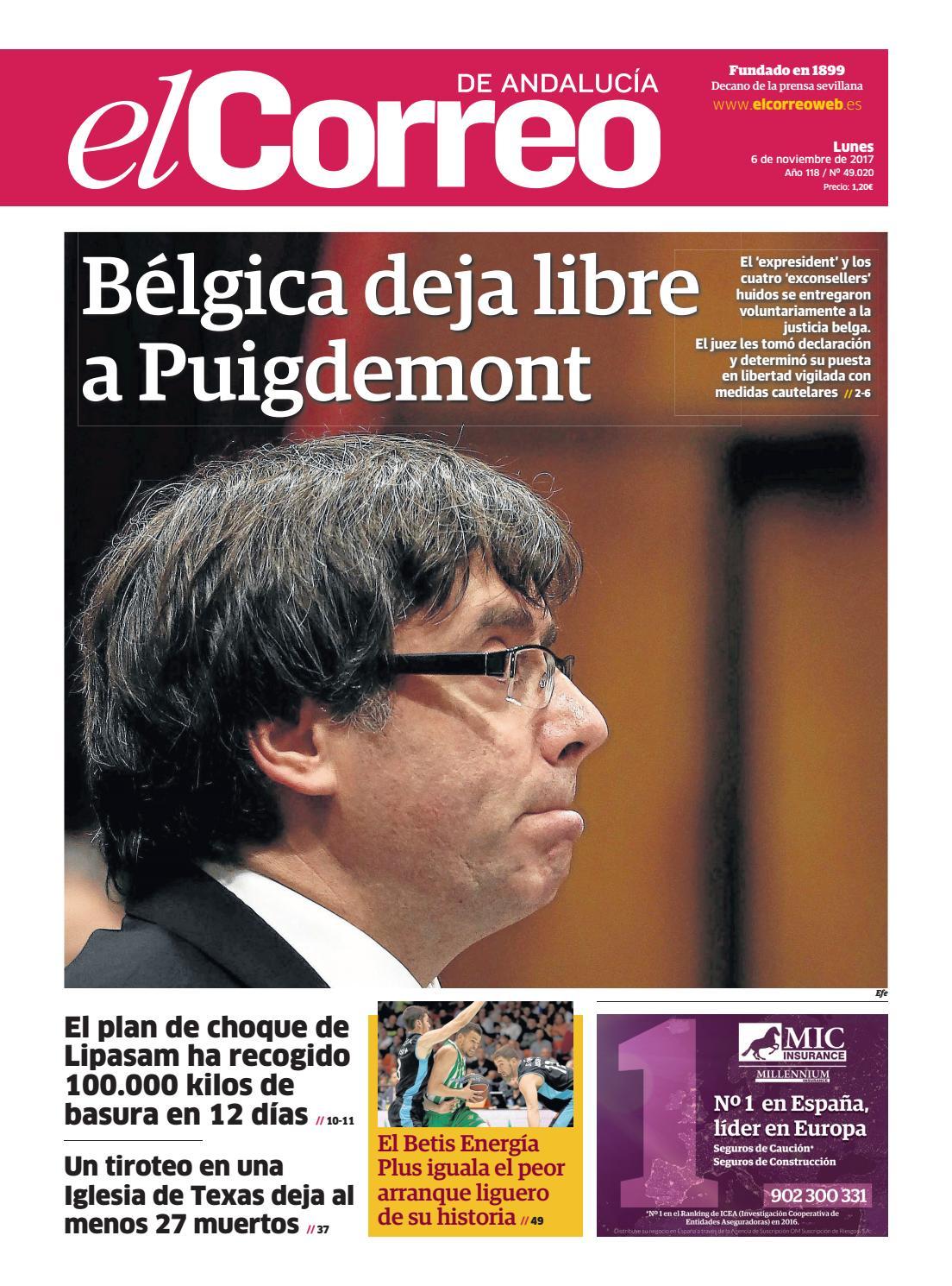 06.11.2017 El Correo de Andalucía by EL CORREO DE ANDALUCÍA S.L. - issuu