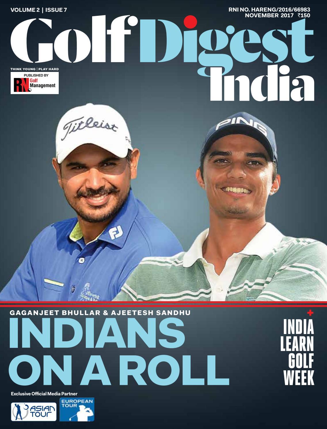 Golf Digest India - November 2017 by Golf Digest India - issuu 86f728b6ebd5