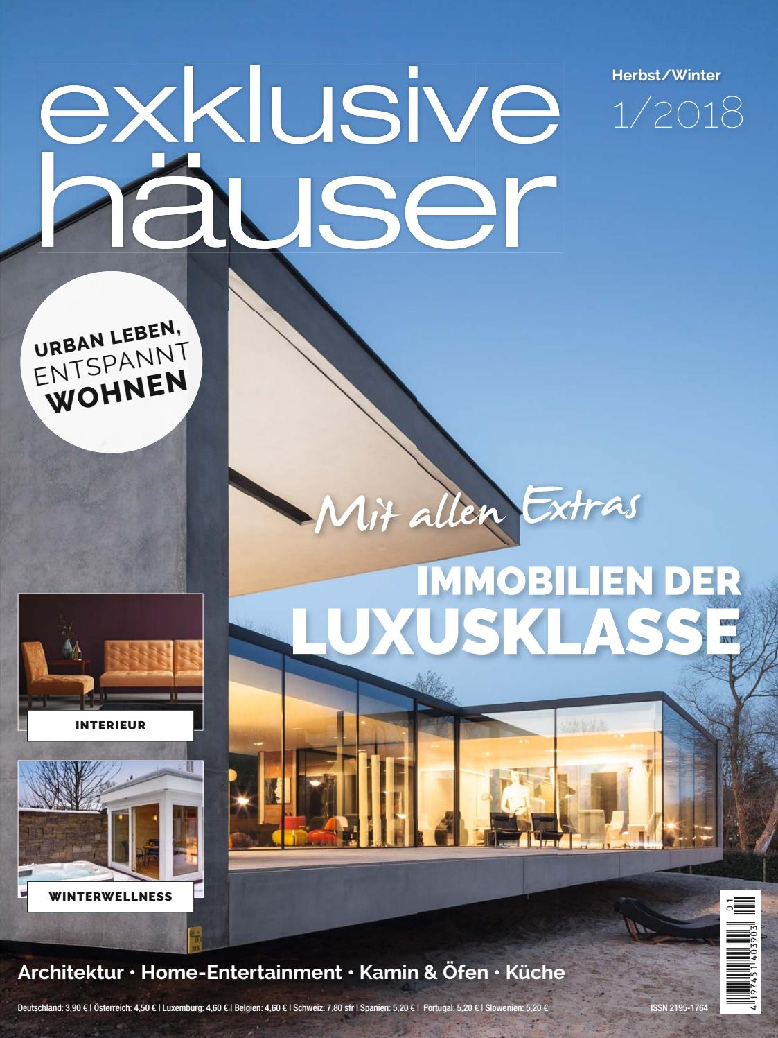 exklusive h user 1 2018 by family home verlag gmbh issuu. Black Bedroom Furniture Sets. Home Design Ideas