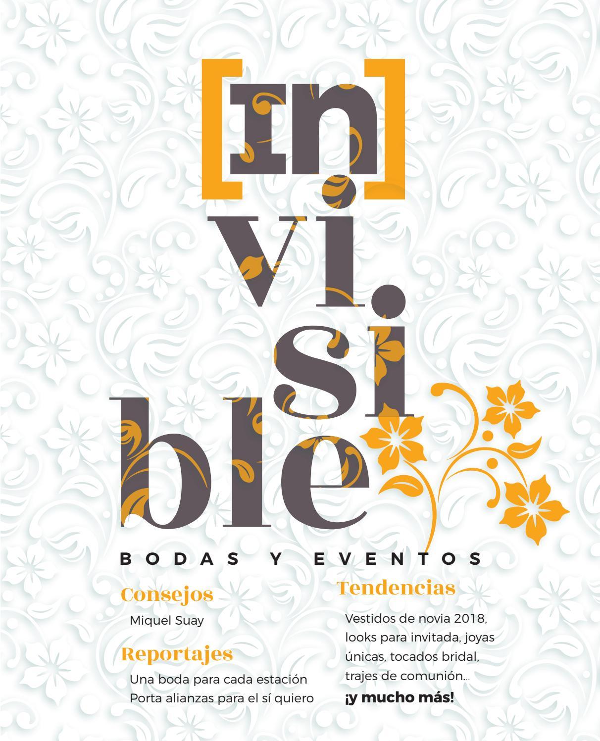 24bd09bb Invisible Bodas y Eventos 2017/2018 by Safor Guia - issuu