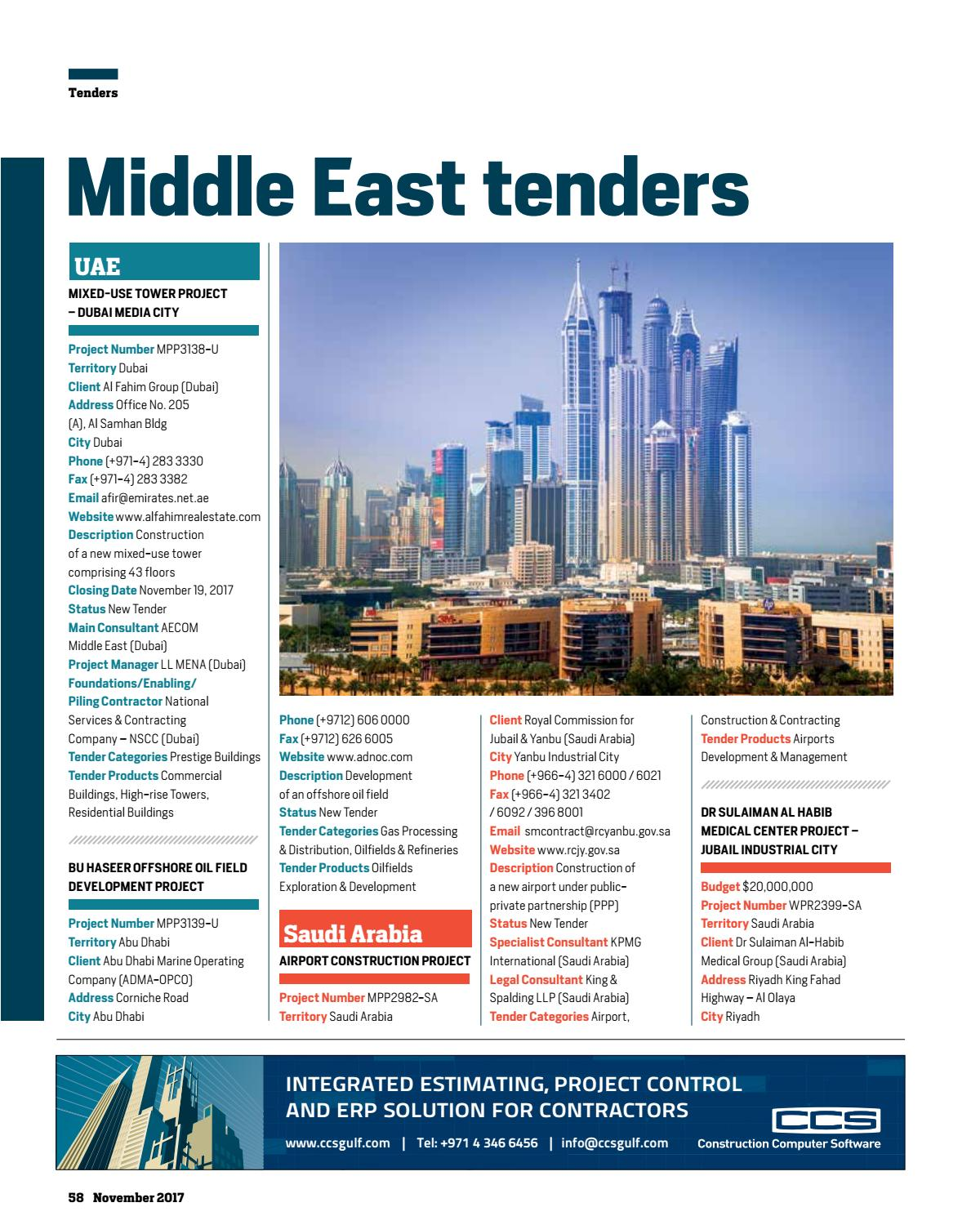 Big Project ME November 2017 by Big Project Middle East - issuu