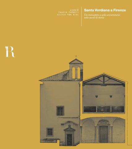 Santa Verdiana a Firenze | Farneti, Van Riel by DIDA - issuu