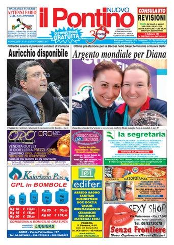 new product 55608 e5737 Il Pontino Nuovo - Anno XXXII - N. 20 - 16 30 Novembre 2017 by Il  Pontino Il Litorale - issuu