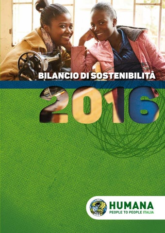 Bilancio di Sostenibilità di HUMANA - 2016 by HUMANA People to ... 252607cd90d