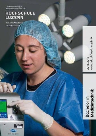 Studienführer Medizintechnik 2018/2019 by Hochschule Luzern - issuu