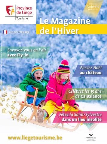 08fdee269141 Magazine de l hiver 2017 by Fédération du Tourisme de la Province de ...