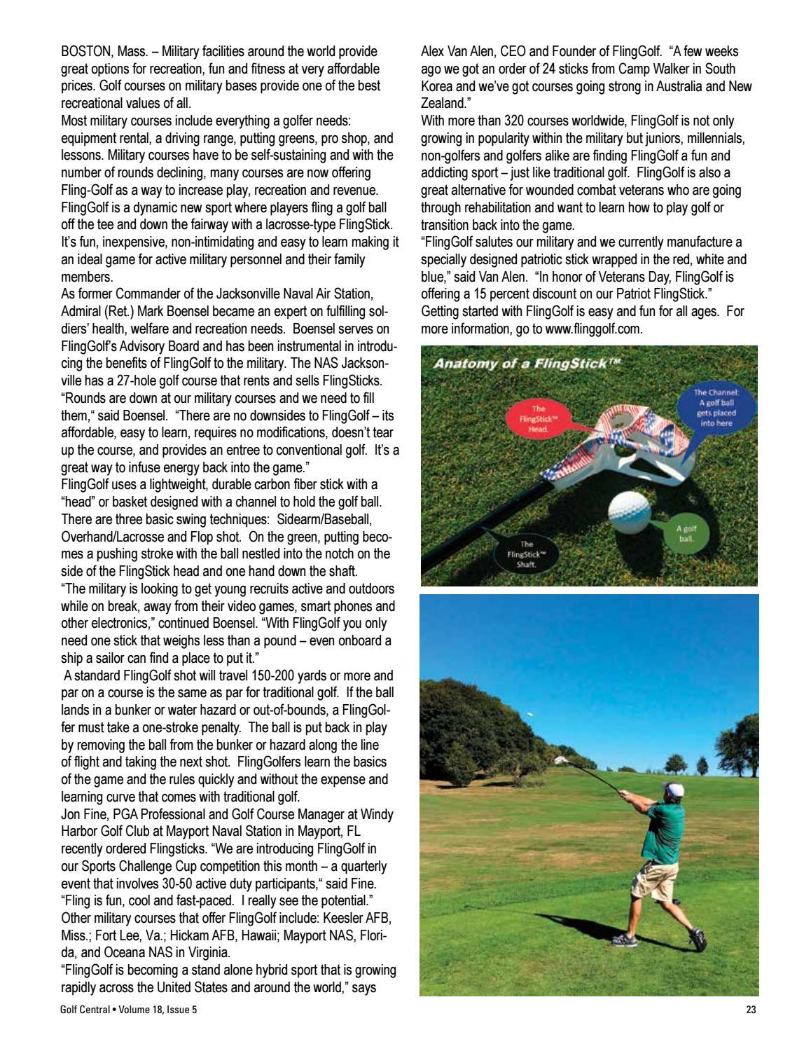 Golf Central Magazine V18 issue 5 • ezine by Shannon Coates - issuu