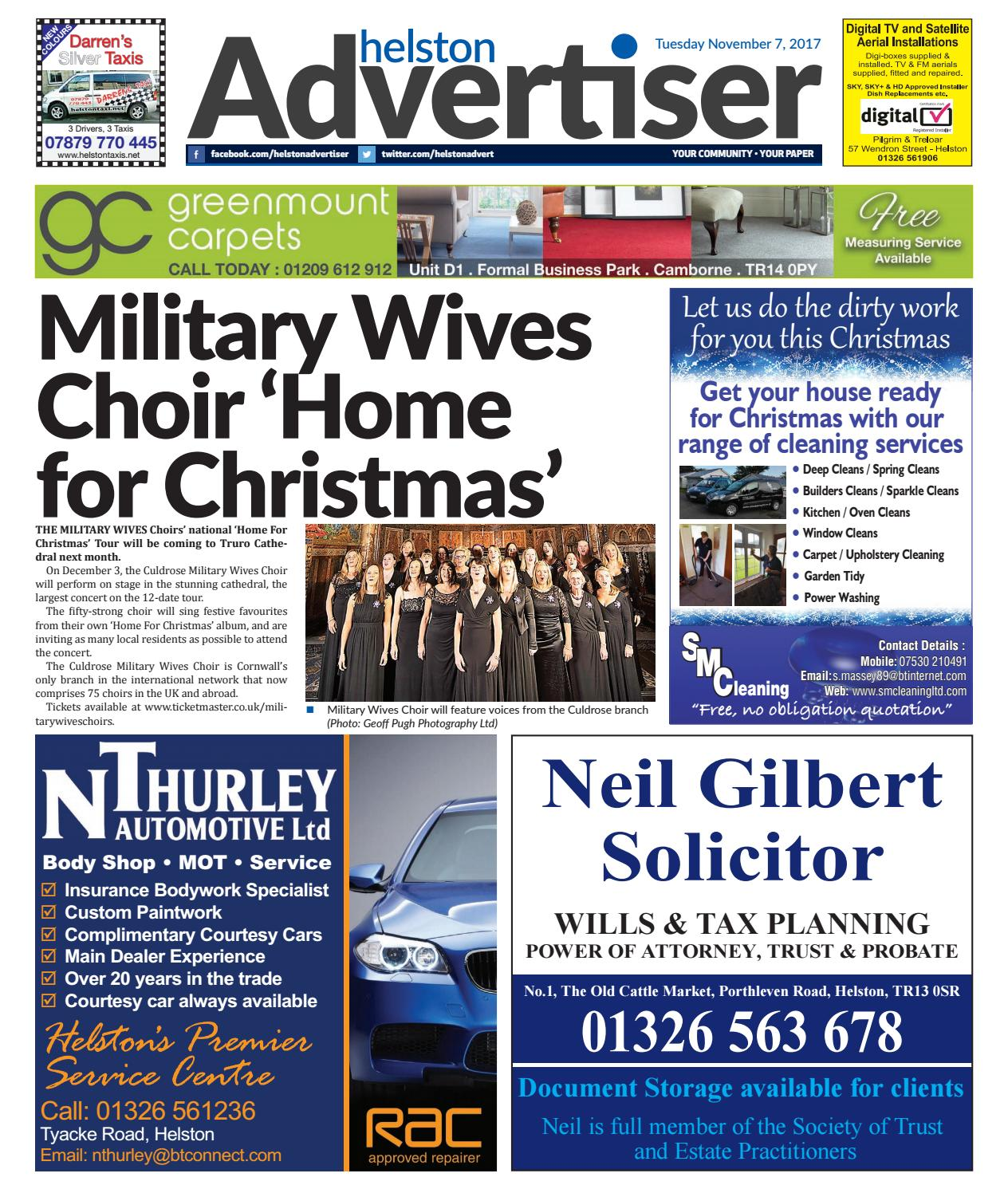 Helston Advertiser - November 7th 2017 by Helston Advertiser - issuu
