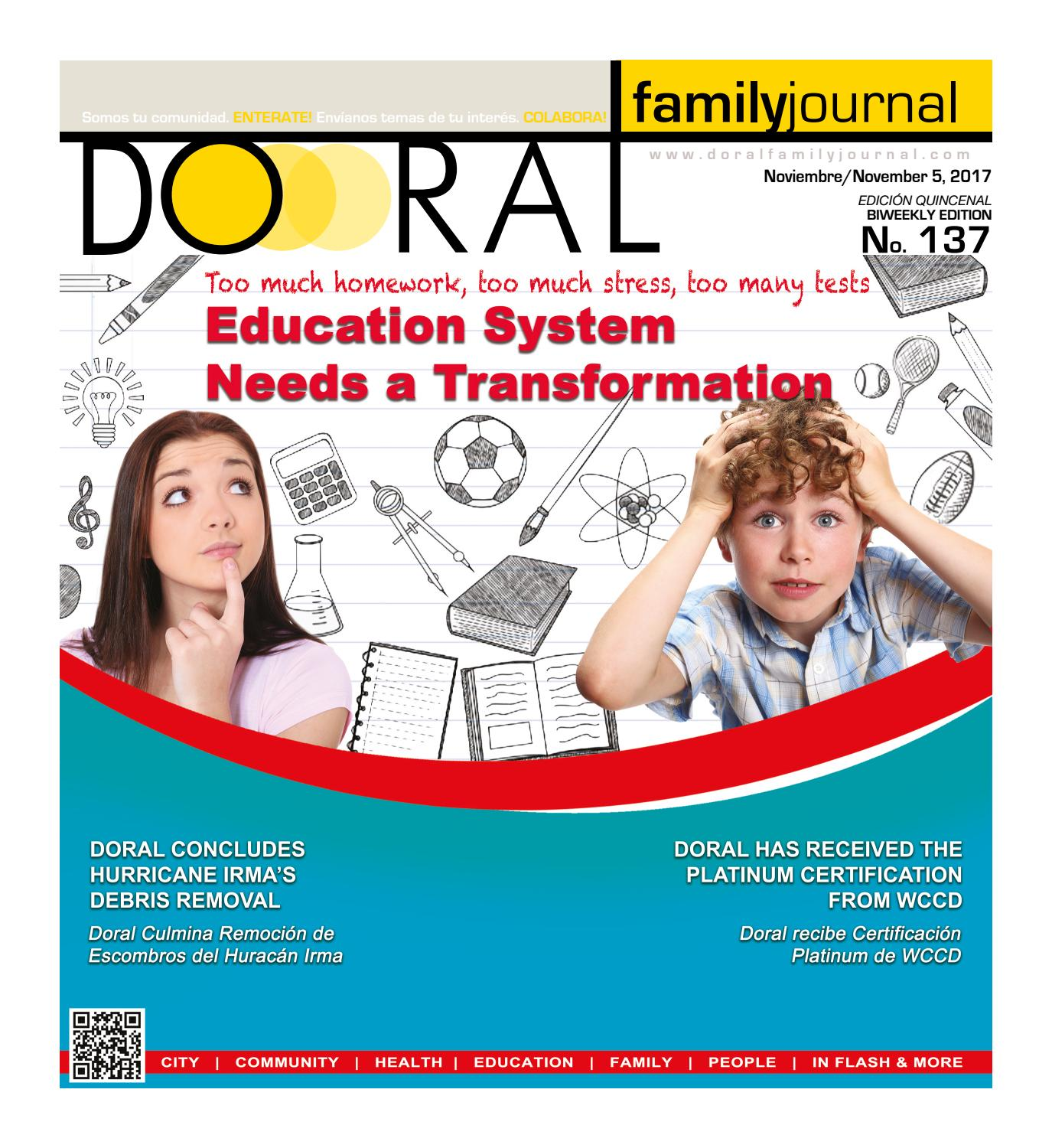 DORAL FAMILY JOURNAL # 137 by DORAL FAMILY JOURNAL - issuu